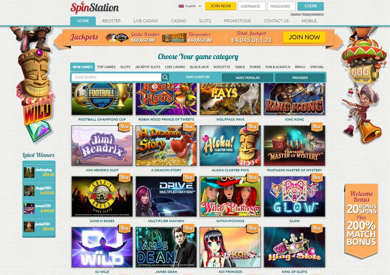 spin station online pokies